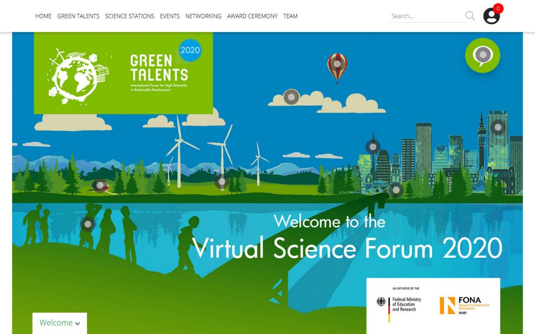 GREEN TALENTS AWARD 2020