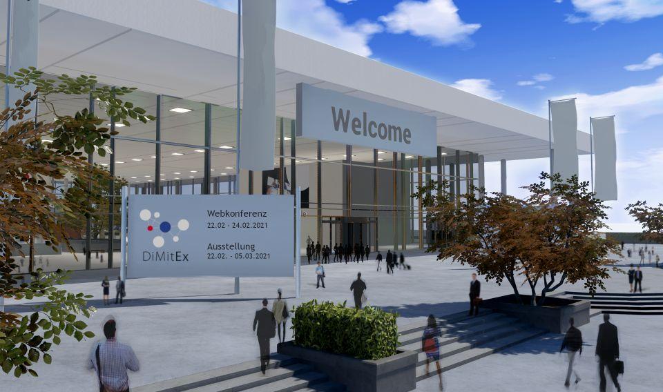DiMitEx – virtuelle Kongressmesse für Digitalisierung im Mittelstand