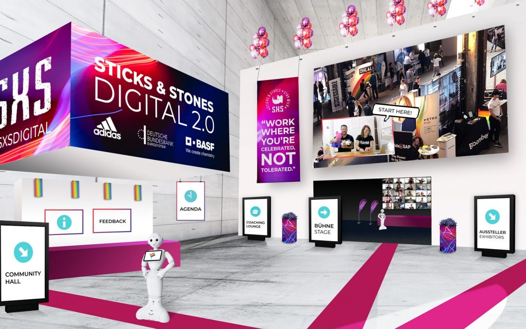 Sticks & Stones Digital: LGBT+ Job- und Karrieremesse