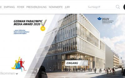Verleihung des German Paralympic Media Awards 2020