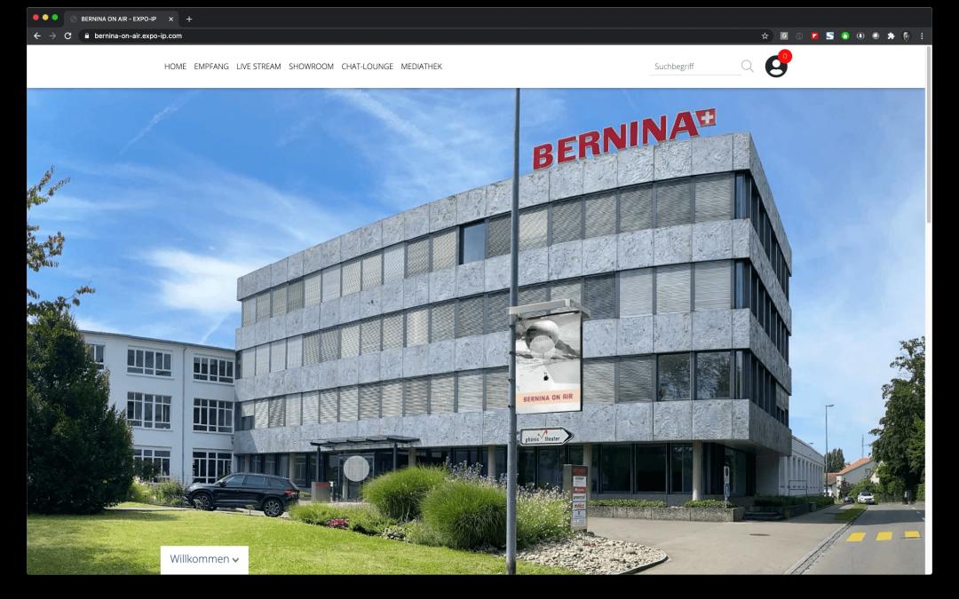 Bernina On Air – Fachhandelstagung 2020