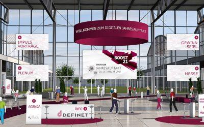 Jahresauftakt 2021 der DEFINET AG