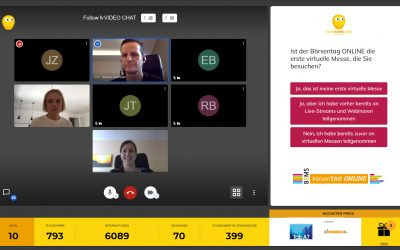 Networking-Boost per interaktivem Video-Chat – spielend leicht mit CONFGAMES