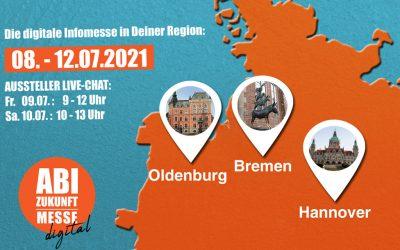ABI Zukunft digital 2021 – Standorte: Bremen, Hannover & Oldenburg