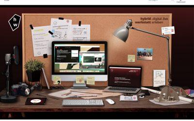 hybridwerkstatt – eine interaktive Präsentationsplattform unserer Leistungen